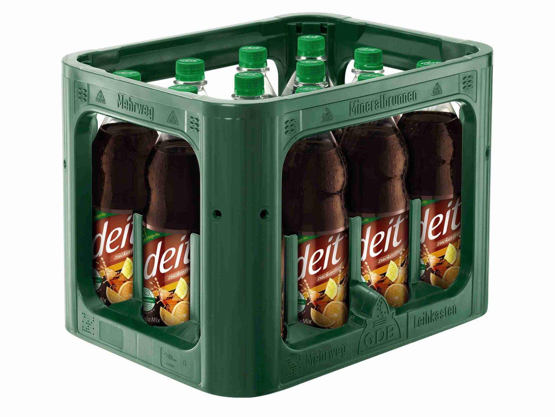 deit cola mix 12x1 liter pet kiste getr nkelieferdienst hamburg. Black Bedroom Furniture Sets. Home Design Ideas