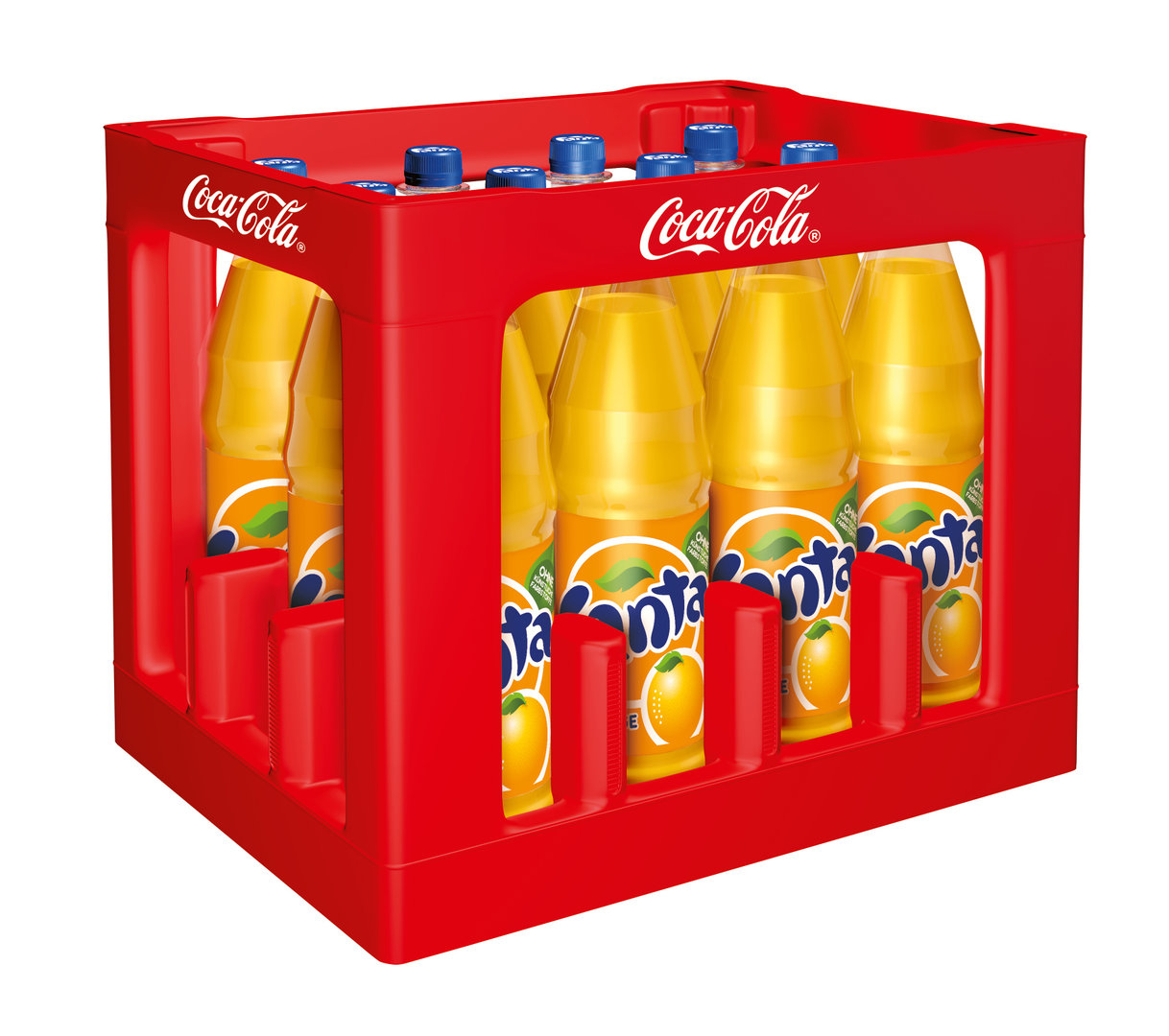 fanta orange 12x1 liter pet kiste getr nke lieferdienst. Black Bedroom Furniture Sets. Home Design Ideas