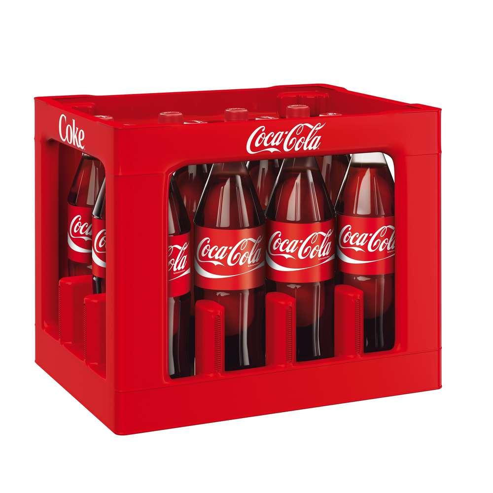 Coca Cola Classic 12x1 Liter (PET) KISTE Getränke Lieferdienst Hamburg