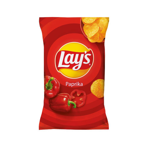 Lay's Classic Paprika 1 x 175g (Pack) Beutel