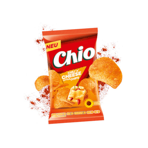 Chio Chips Chili 'n' Cheese 1 x 175g (Pack) Beutel